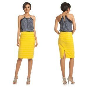 Trina Turk Tweed Lace Dorris Pencil Skirt, Size 14